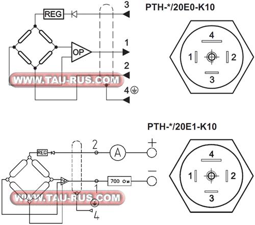 Датчики PTH-*/20E0-K10