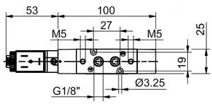 Пневмораспределитель Т488.52.0.1.M11, Т488.52.0.1.M56, Т488.52.0.1E.M57, Т488.52.0.1E.M58, Т488.52.0.1E.M9