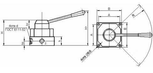 Размеры В71-24М-01, В71-23М-01, В71-22М-01, В72-24М-01, В72-23М-01, В72-22М-01,